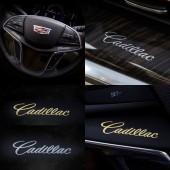 Металлические наклейки с логотипом Cadillac