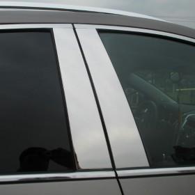 Накладки на стойки дверей Кадиллак SRX