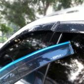 Дефлекторы боковых окон с молдингом на SRX