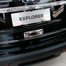 Хром накладка на ручку задней двери Форд Эксплорер