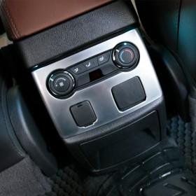 Хром накладка на климат контроль задних пассажиров Форд Эксплорер