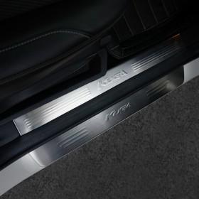 Накладки на дверные пороги Форд Куга 8 шт.