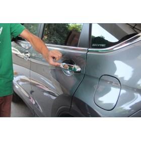 Хромированные накладки на ручки дверей Хонда срв