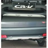 Накладка на передний и задний бампер CR-V (2 варианта)