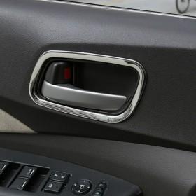 Хром рамки вокруг ручек открывания дверей Хонда срв