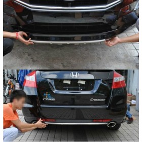 Накладки на передний и задний бамперы Хонда Кросстур