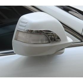 Молднинги на боковые зеркала Хонда Кросстур срв 2007-2011