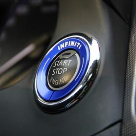 Декоративное кольцо на кнопку запуска двигателя Инфинити