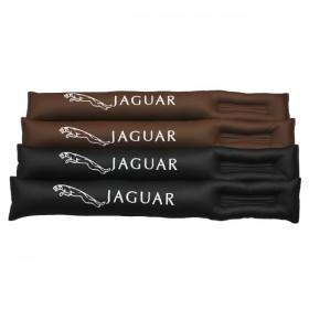 Вставки между передними сидениями и тоннелем для Ягуар