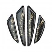Защитные наклейки на двери Ягуар