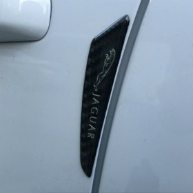 Универсальные защитные наклейки для дверей с логотипом Jaguar