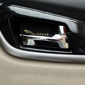 Наклейки на кузов и для салона с логотипом Ягуар