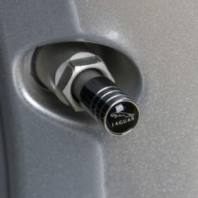 Колпачки на ниппель с логотипом Jaguar