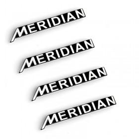 Шильдики для динамиков дверей Меридиан