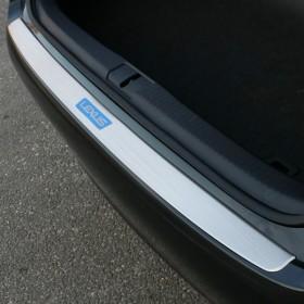 Защитная накладка на кромку заднего бампера Лексус ES