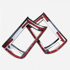 Накладки на боковые дефлекторы в салоне Лексус рх