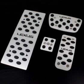 Алюминиевые накладки на педали Лексус рх/лх/ис