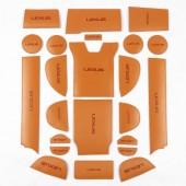 Кожаные коврики для ниш салона RX200t/350/450h
