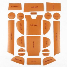 Кожаные коврики для внутрисалонного пространства Лексус RX 2016