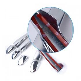 Хромированные накладки на ручки дверей Мазда сх5