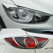 Комплект накладок на фары и фонари CX5