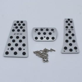 Алюминиевые накладки на педали для Мазда сх5