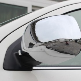 Хром накладки на зеркала для Мицубиси асх