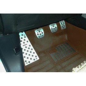 Алюминиевые накладки на педали для Мицубиси асх