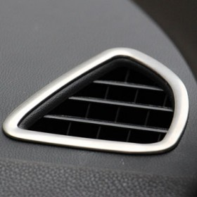 Хром накладки на вентиляционные отверстия Мицубиси асх