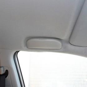 Очечник вместо водительской ручки двери Мицубиси асх