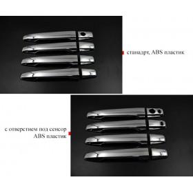Хром накладки на ручки дверей Мицубиси асх