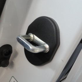 Накладки дверных петель Мицубиси Аутлендер 3
