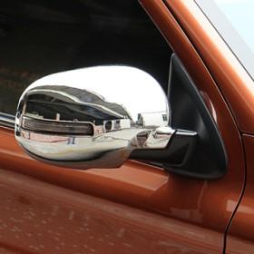 Хром накладки на зеркала для Мицубиси Аутлендер
