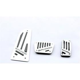 Алюминиевые накладки на педали для Мицубиси Аутлендер