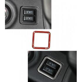 Накладки на кнопки обогрева сидений, ASC, корректор фар Мицубиси Аутлендер