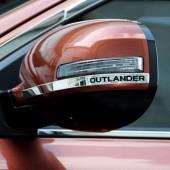 Молдинг боковых зеркал Outlander