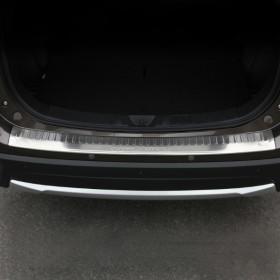 Накладка на кромку заднего бампера Мицубиси Аутлендер 2016