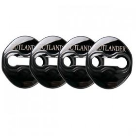 Металлические накладки дверных петель Мицубиси Аутлендер 3