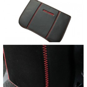 Кожаный чехол для задней стенки подлокотника Мицубиси Аутлендер