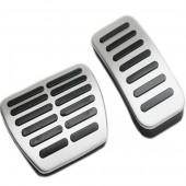 Алюминиевые накладки на педали 2 шт. (автомат) Koleos