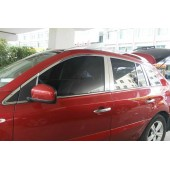 Хромированные молдинги на окна дверей, 26 штук Renault Koleos 2008-