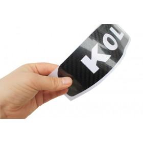 Наклейка на стоп-сигнал из углеродного волокна Рено Колеос 2008-