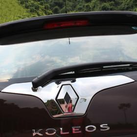 Хром накладка на заднюю дверь для Рено Колеос 2008-