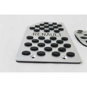 Накладки на педали комплект из 3 шт. Рено Колеос