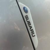 Защитные наклейки на двери с лого Subaru