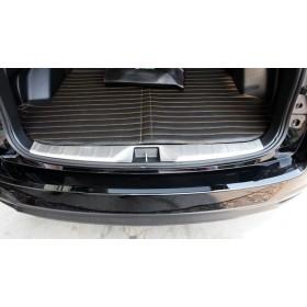 Накладки на внутренний порог багажника Субару Форестер 4