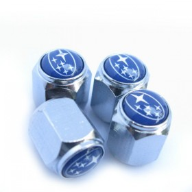 Колпачки на ниппеля с логотипом СУБАРУ