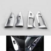 Накладки на подлокотники дверей Forester (3 варианта)