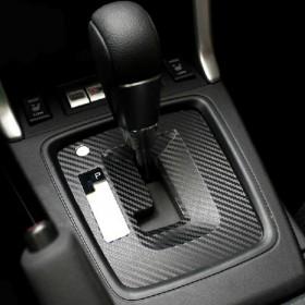 Карбон наклейка на коробку передач Субару Форестер