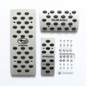 Алюминиевые накладки на педали Субару Форестер